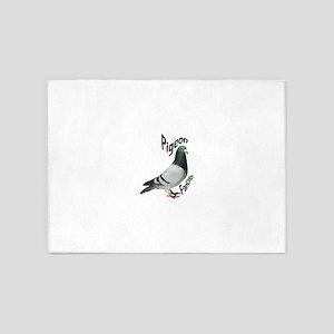 Pigeon Fancier 5'x7'Area Rug