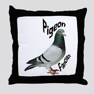 Pigeon Fancier Throw Pillow
