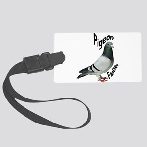 Pigeon Fancier Large Luggage Tag