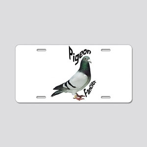 Pigeon Fancier Aluminum License Plate