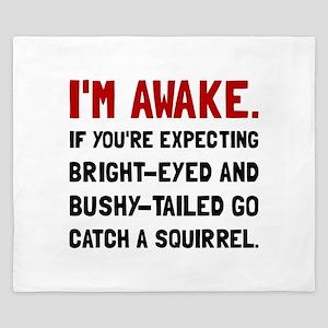 Go Catch Squirrel King Duvet
