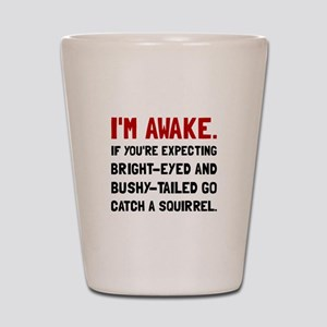 Go Catch Squirrel Shot Glass