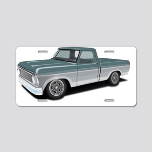 Old Muscle II Aluminum License Plate