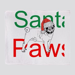 Santa Paws Throw Blanket
