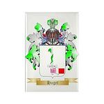 Huget Rectangle Magnet (100 pack)
