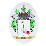 Huget Ornament (Oval)