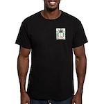 Hugenuin Men's Fitted T-Shirt (dark)
