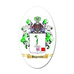 Hugenuin 20x12 Oval Wall Decal