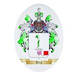 Hug Ornament (Oval)