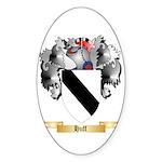 Huff Sticker (Oval 50 pk)