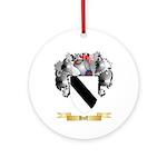Huff Ornament (Round)