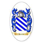 Huerta Sticker (Oval 10 pk)