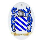 Huerta Ornament (Oval)