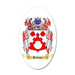 Hudson 20x12 Oval Wall Decal