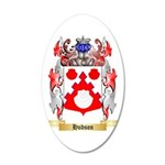 Hudson 35x21 Oval Wall Decal