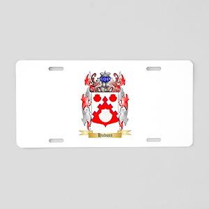 Hudson Aluminum License Plate