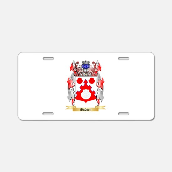 Hudson Aluminum License Plate