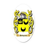 Hudgens Oval Car Magnet