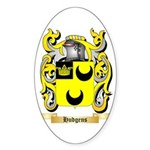 Hudgens Sticker (Oval)