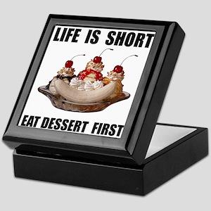 Life Short Dessert Keepsake Box