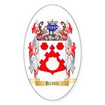 Huddle Sticker (Oval)
