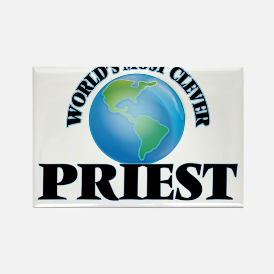 World's Most Clever Priest Magnets