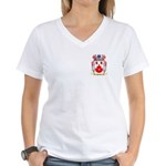 Huckle Women's V-Neck T-Shirt