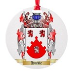 Huckle Round Ornament