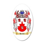 Huckle 20x12 Oval Wall Decal