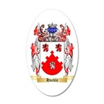 Huckle 35x21 Oval Wall Decal
