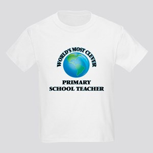 World's Most Clever Primary School Teacher T-Shirt