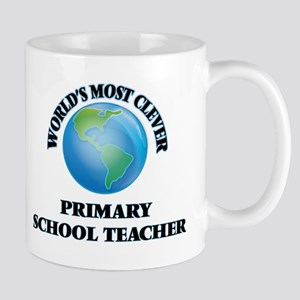 World's Most Clever Primary School Teacher Mugs