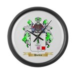 Huckin Large Wall Clock