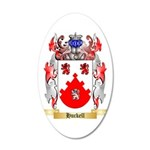 Huckell 35x21 Oval Wall Decal