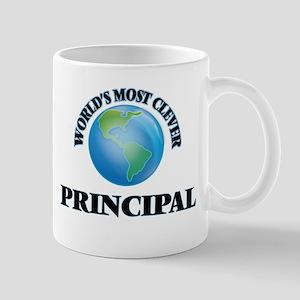 World's Most Clever Principal Mugs