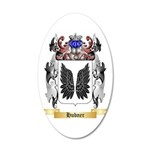 Hubner 20x12 Oval Wall Decal
