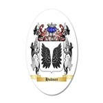 Hubner 35x21 Oval Wall Decal