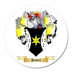 Hubert Round Car Magnet
