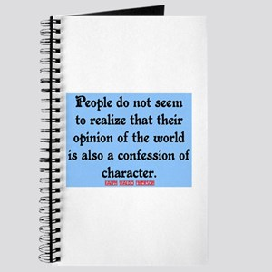 EMERSON - CHARACTOR QUOTE Journal