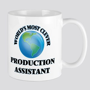 World's Most Clever Production Assistant Mugs