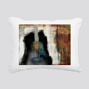Strum Love Rectangular Canvas Pillow