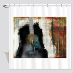 Strum Love Shower Curtain
