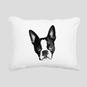 What? Rectangular Canvas Pillow