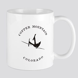 Copper Mountain Colorado Funny Falling Skier Mugs