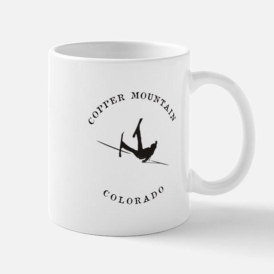 Copper Mountain Colorado Funny Falling Skier Mugs