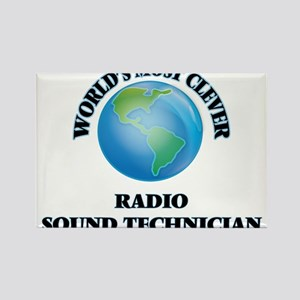 World's Most Clever Radio Sound Technician Magnets