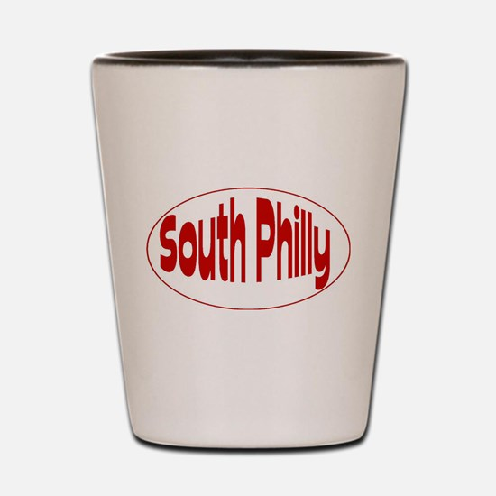 South Philly Shot Glass
