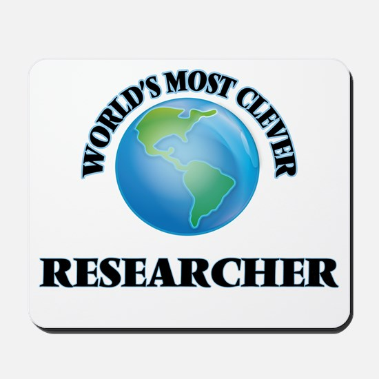 World's Most Clever Researcher Mousepad