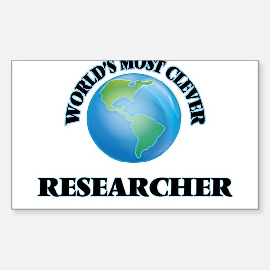 World's Most Clever Researcher Decal