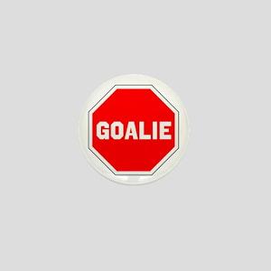 GOALIE (STOP SIGN) Mini Button